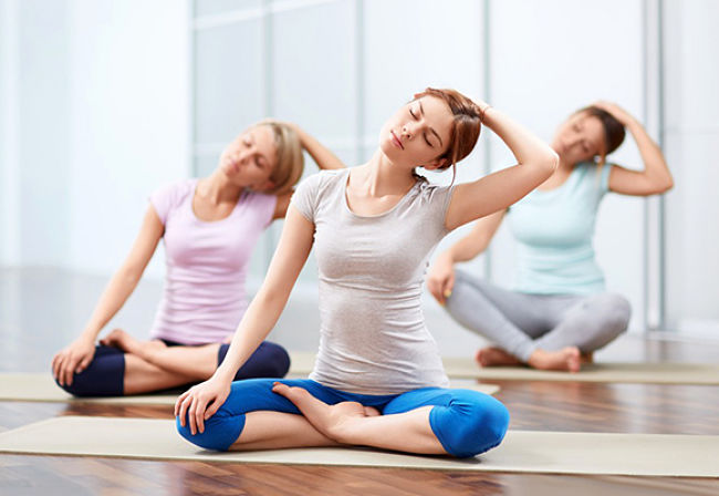 classes include pilates mat, pilates sculpt, reformer/apparatus pilates, yin yoga, restorative yoga and more.